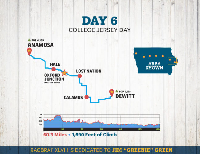 RAGBRAI - Day 6